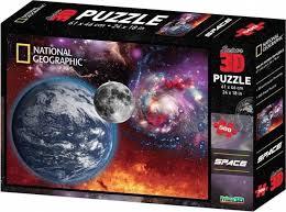 3D PUZZLE SPACE 500 PCS