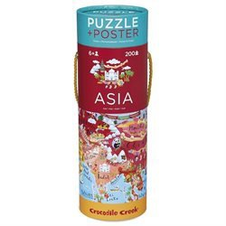 ASIA PUZZLE & POSTER