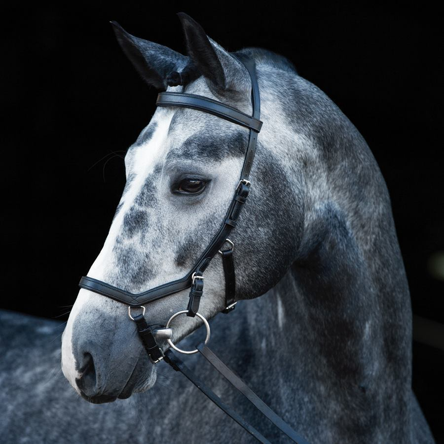 Horseware Rambo Micklem Competition Bridle With Reins   Black