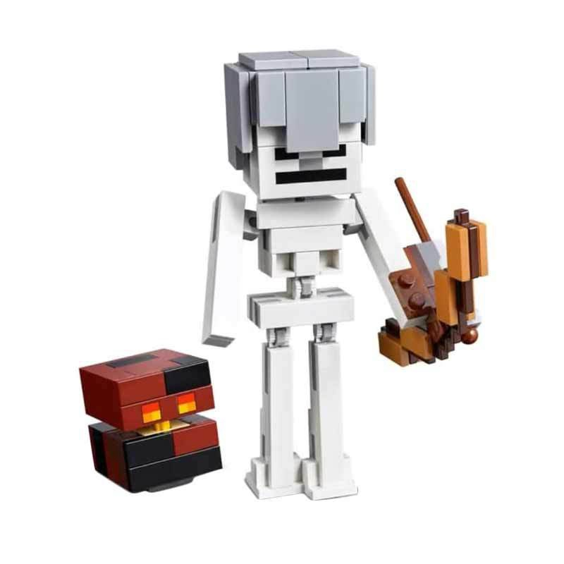 MINIECRAFT BIGFIG SKELETON WITH MAGMA CUBE