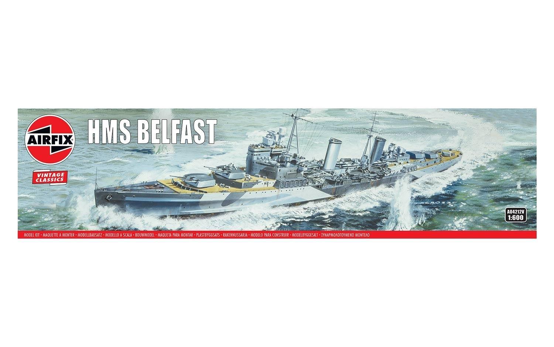 Airfix #A04212V 1/600 HMS Belfast-Vintage Classics