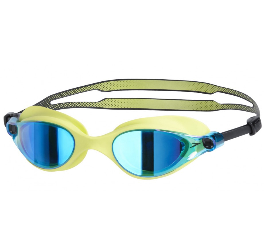 Vue Mirror Goggles Lime/Blue