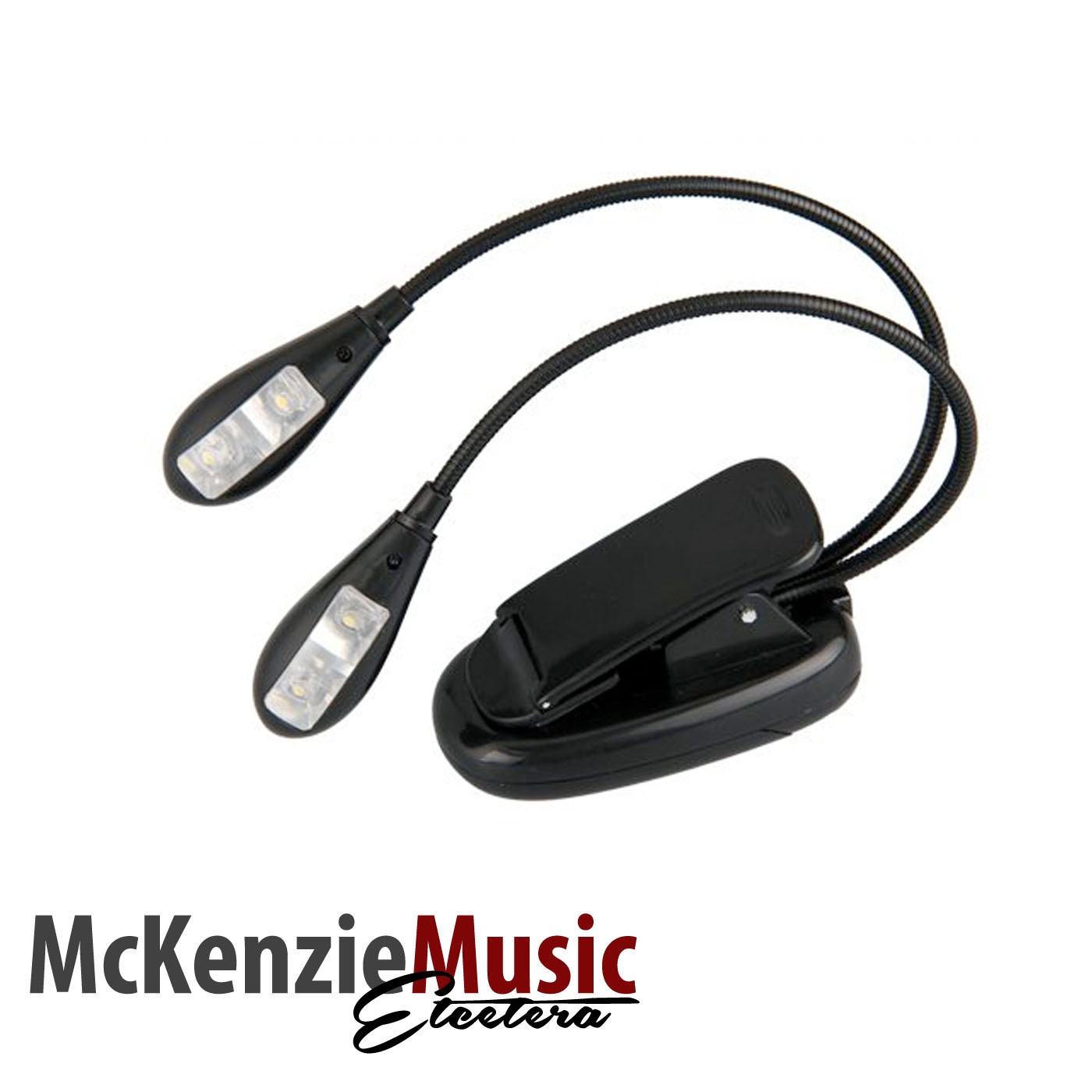 Cherry Music 2 LED Clip-on Music Stand Light