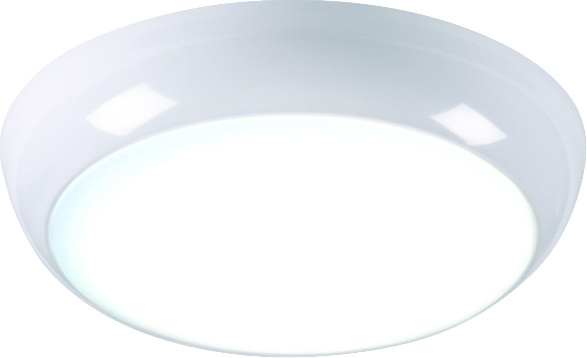 230V IP44 14W LED Emergency Bulkhead Fitting with Sensor 6000K