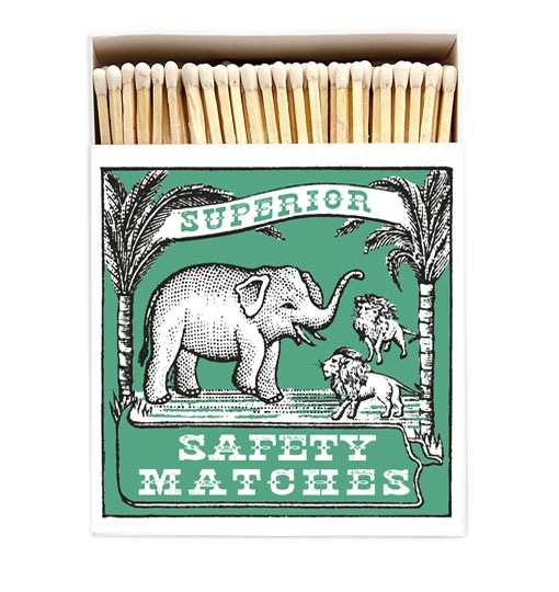 Elephant and Lion Matches