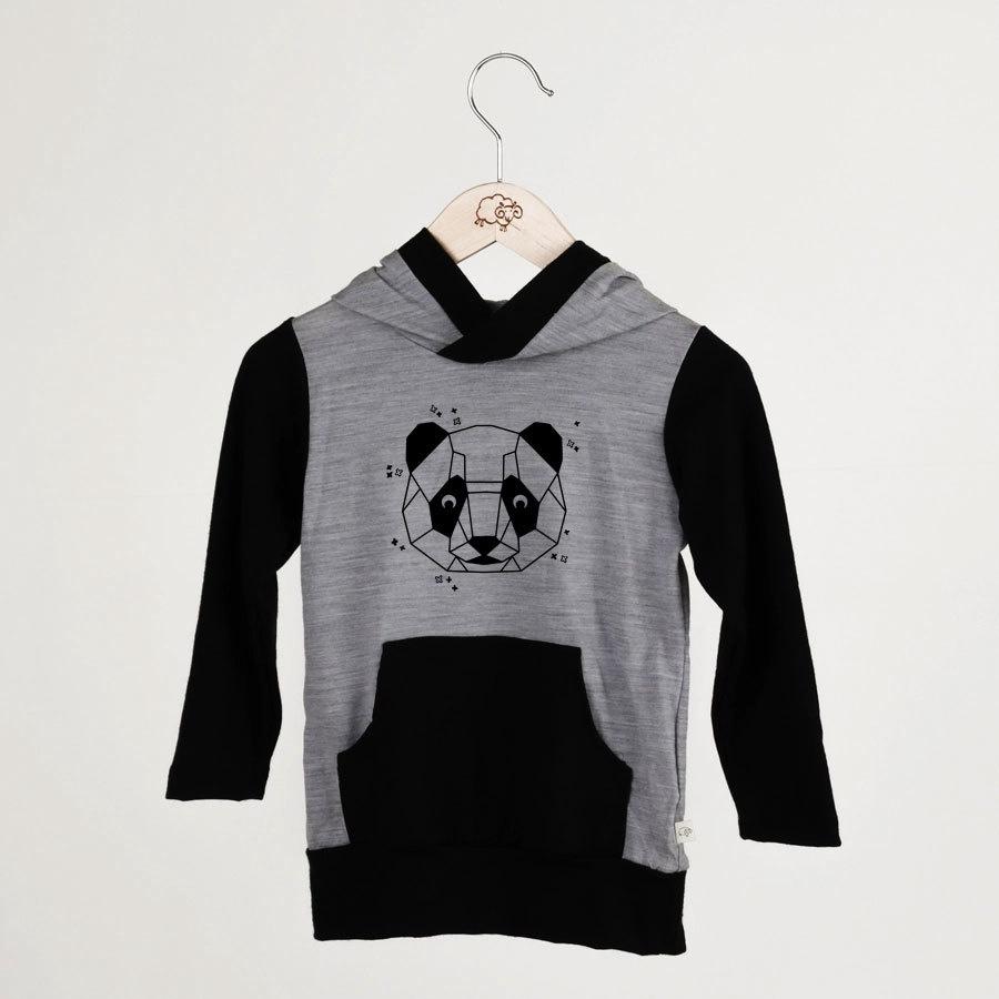 HOODIE - MIST/PANDA
