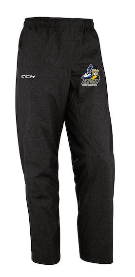 CCM Premium Skate Suit Pant-VRC Kings Black-EMBROIDERED CREST
