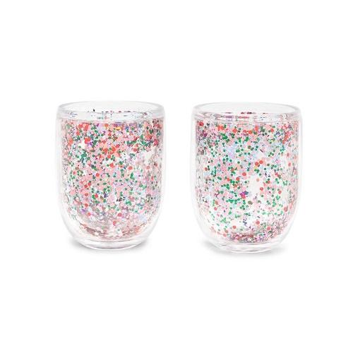 Confetti Glitter Bomb Tumbler Set