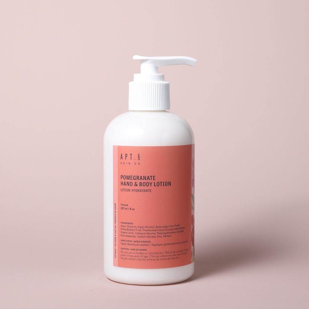 Pomegranate Hand & Body Lotion
