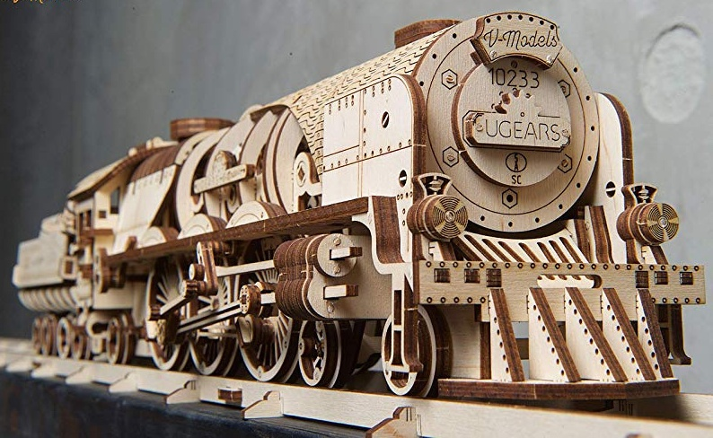 UGears #120853 V-Express With Tender