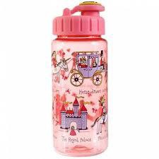 DRINKING BOTTLE WITH STRAW PRINCESS