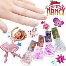 FANCY NANCY 4PK NAIL POLISH WITH GLITTER
