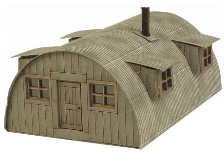 Metcalfe #PN815 N Scale Nissen Hut