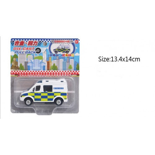 POLICE CAR HONG KONG DIE CAST
