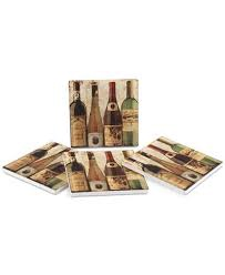 Bottled At The Vineyard Coaster Set