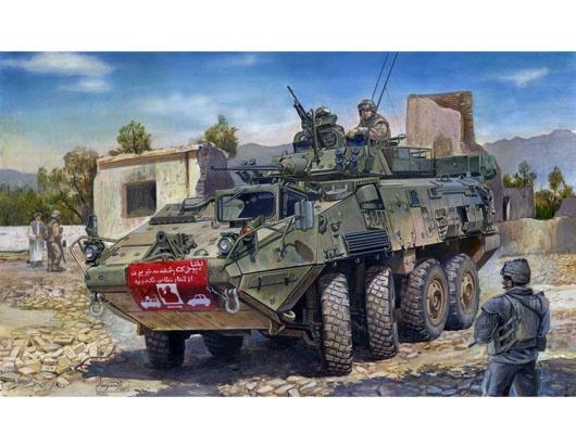 Trumpeter #01519 1/35 LAV-III Wheeled Armoured Vehicle