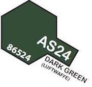 Tamiya Colour Spray Paint #86524 AS-24 Dark Green