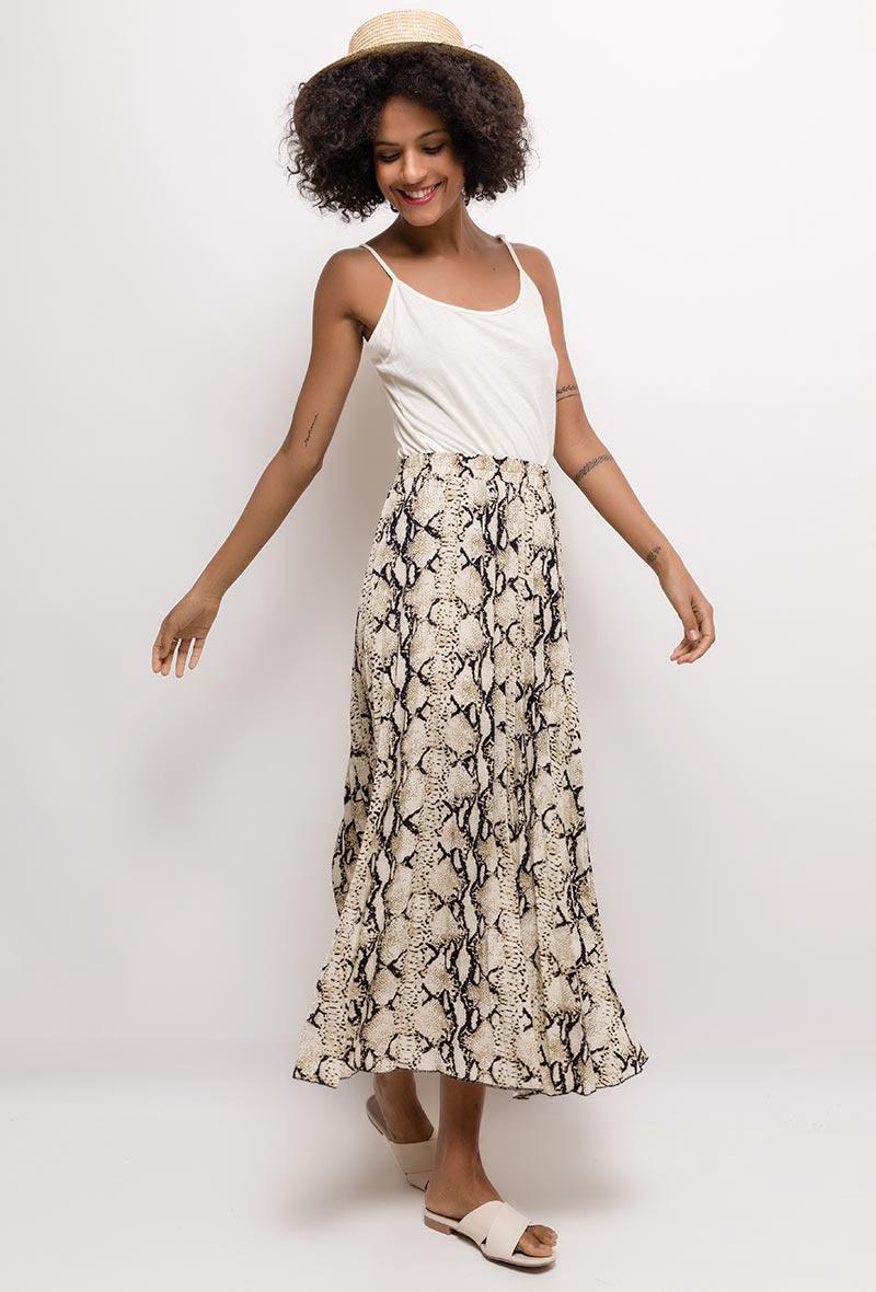 Jolio & Co Snake Skirt 1603