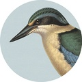 Placemat- Kingfisher Blue