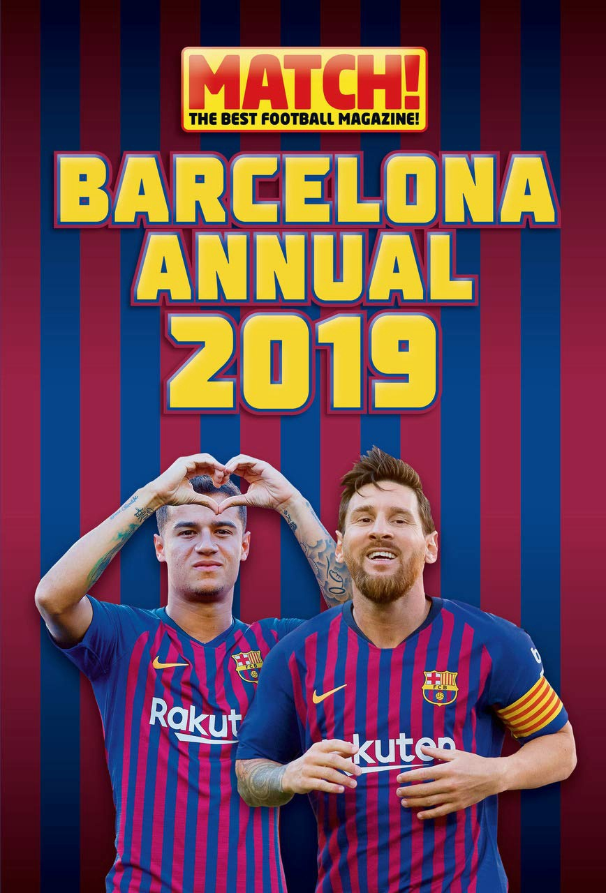 MATCH! BARCELONA ANNUAL 2019 (HB)