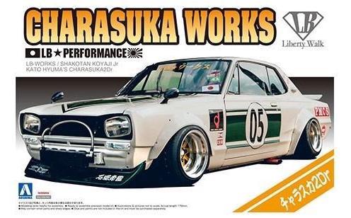 Aoshima #5757 1/24 Liberty Works Charasuka