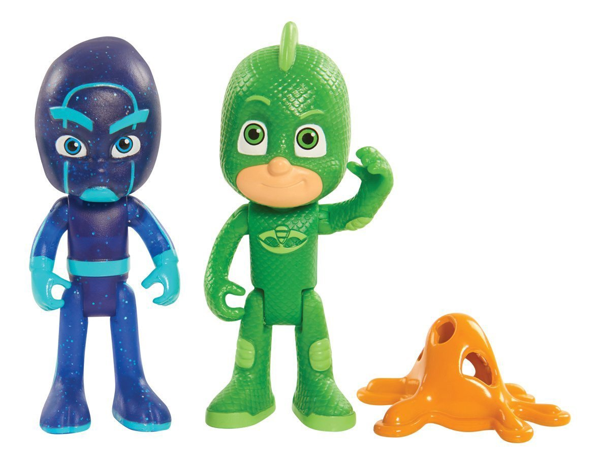 PJ MASKS LIGHT-UP GEKKO AND NIGHT NINJA