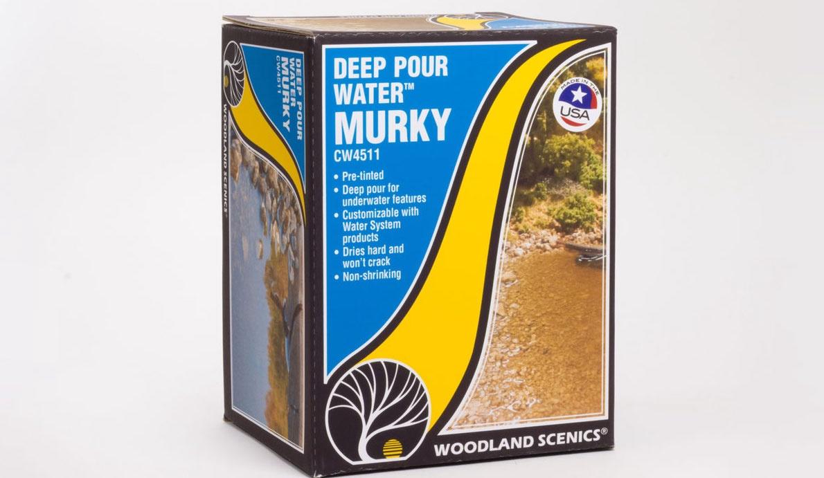 Woodland Scenics #CW4511 Deep pour Water MURKY