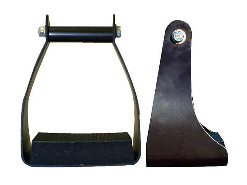Aluminum Coated Trail Stirrups