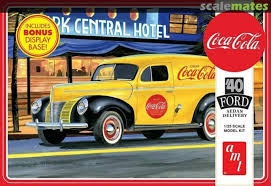 AMT 1161 1/25 1940 Ford Sedan Delivery 'Coca Cola'