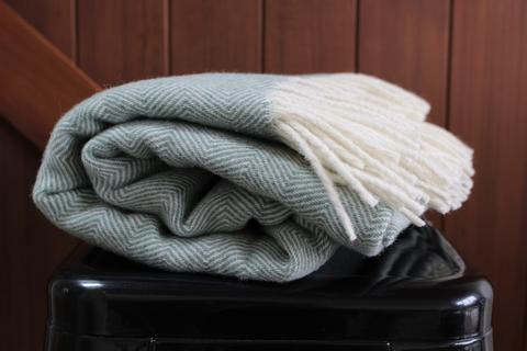 Lambswool Throw (Twill)
