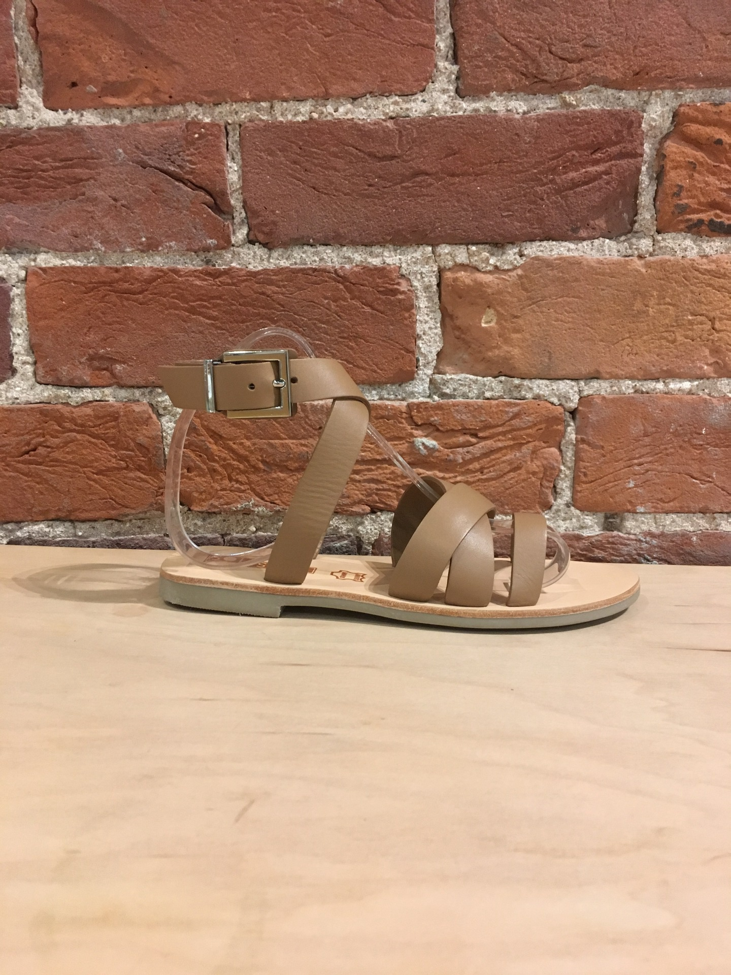 SOL SANA - CLASH SANDAL IN TAN