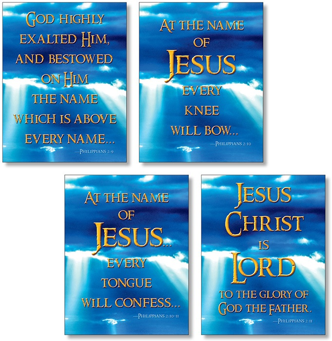 X NS 3133 JESUS IS LORD BBS