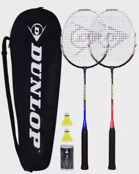 DUNLOP BADMINTON RACKET SET