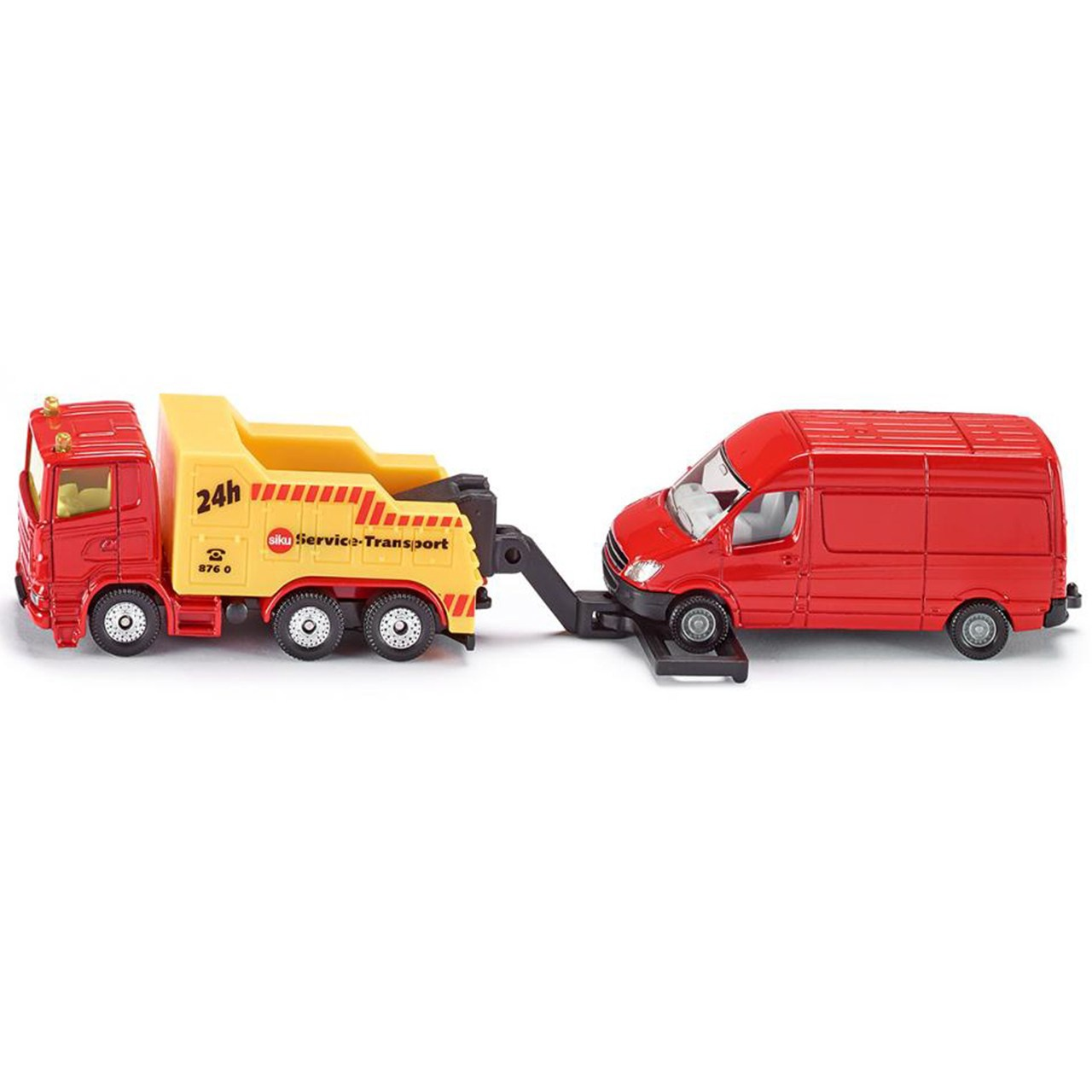 BREAKDOWN TRUCK WITH VAN