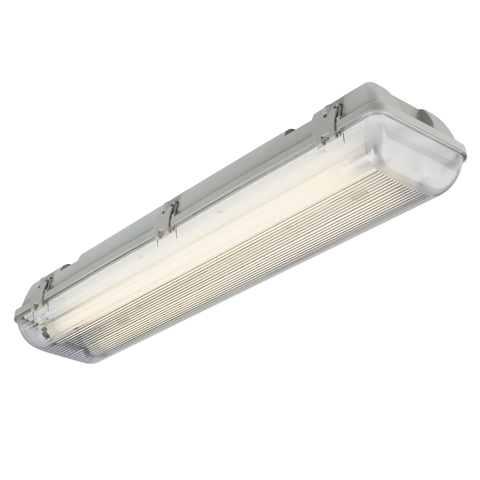 240V IP65 2x58W HF Twin Non-Corrosive Emergency Fluorescent Fitting