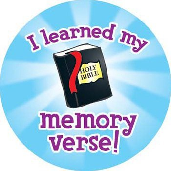 X DC CD 268019 I LEARNED MY MEMORY VERSE STICKERS