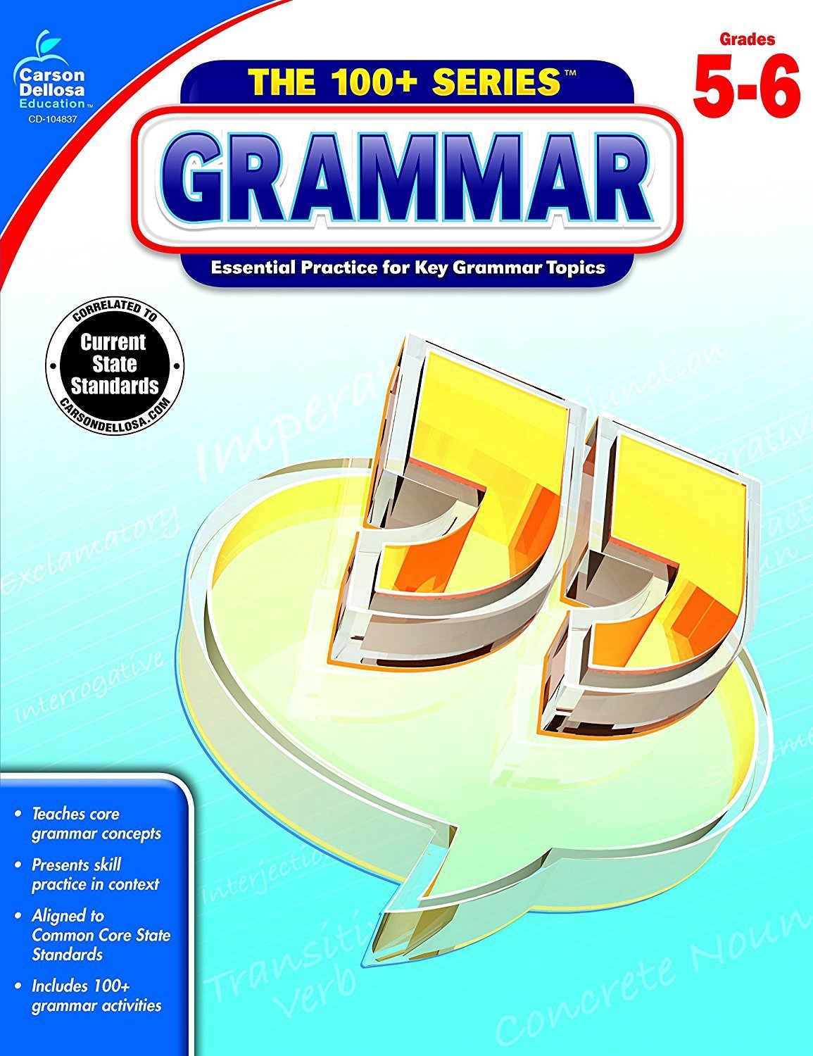 CD 104837 THE 100+ SERIES GRAMMAR G5-6