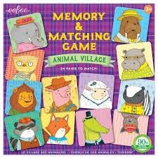 ANIMAL VILLAGE MATCHING / MEMORY GAME