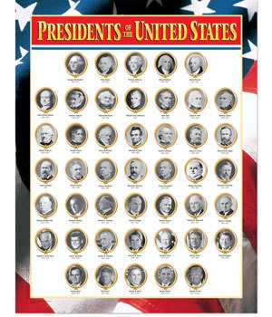 CTP 5344 PRESIDENTS OF U.S. CHART