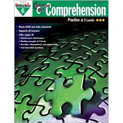 X NL 1303 COMMON CORE COMPREHENSION GR. 6