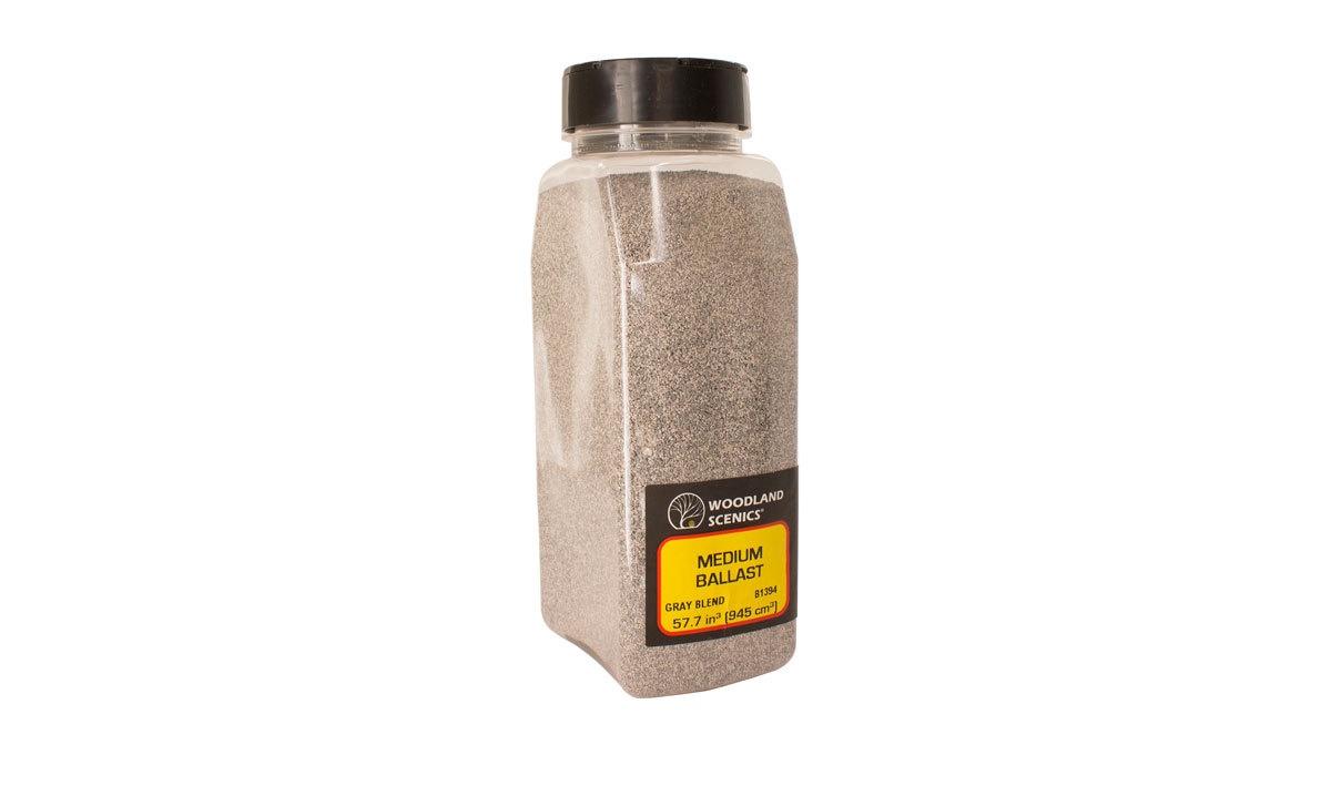 Woodland Scenics #B1393 Fine Ballast Grey Blend  Shaker