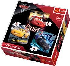 CAR 3 PUZZLE 3 IN 1