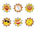 T 6315 SUNNY SMILES SPARKLE STICKERS