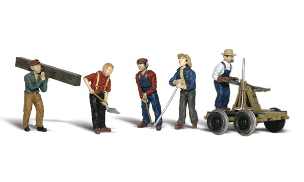 Scenic Accents #A2177 N Rail Workers