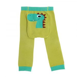 ZIGGLE Baby - Leggings - Dino Des By Stripey Cats Size: 6-12 months