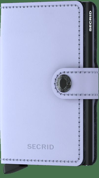 SECRID - MINIWALLET IN LILAC/BLACK