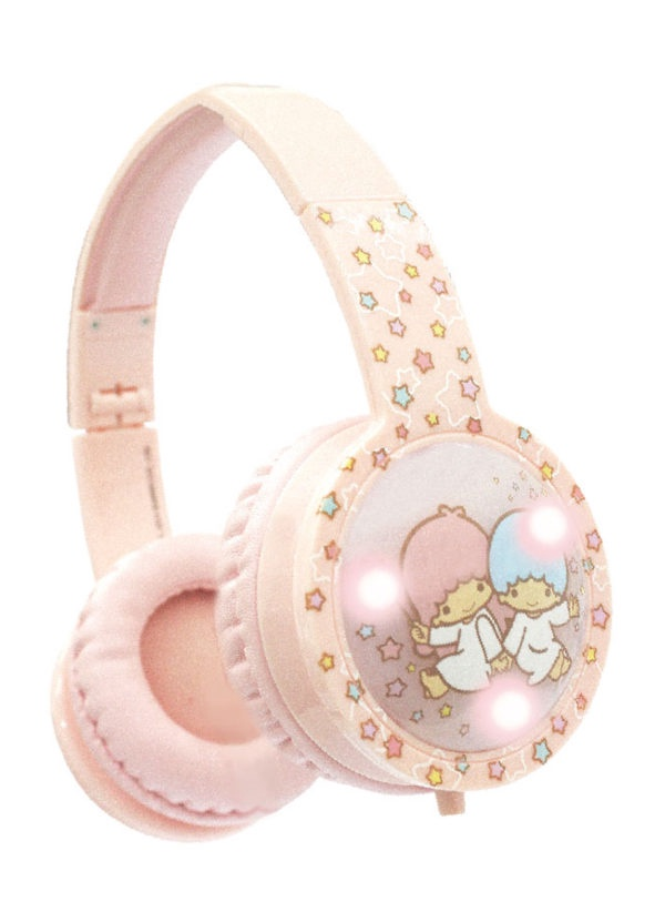 BLINKING KIDS HEADPHONES LITTLE TWIN STARS