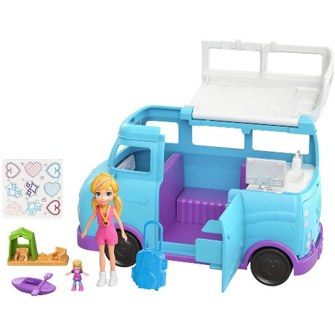 POLLY POCKET GLAMPING VAN
