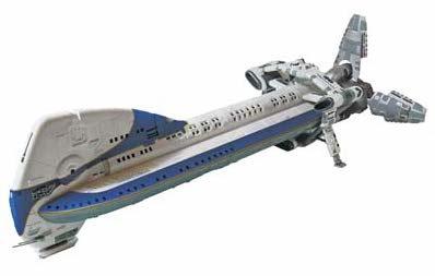 Moebius Models #945 1/350 Battlestar Galactica  Colonail One