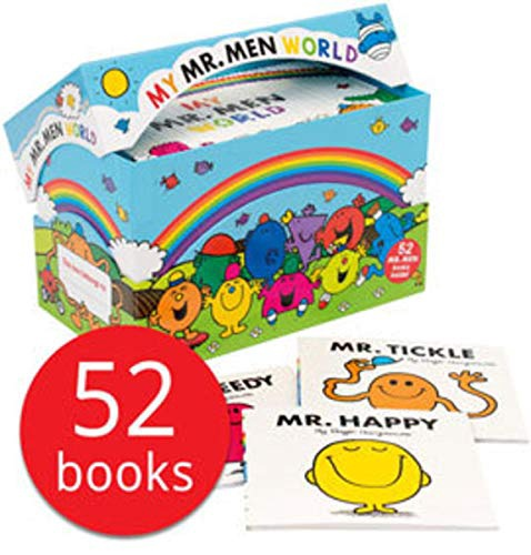 MY MR. MEN WORLD COLLECTION (52 BOOKS)